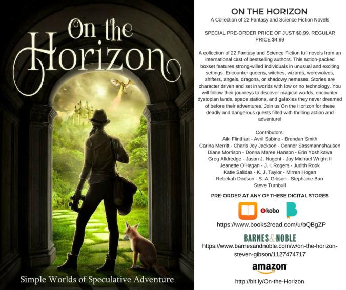 On The Horizon - preorder infocorrected